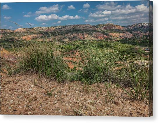 Blue Skies Over Palo Duro Canyon Canvas Print
