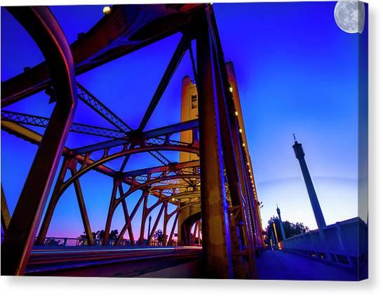 Blue Sunset- Canvas Print