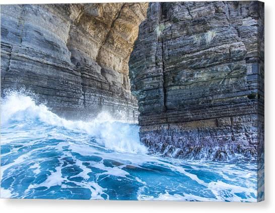 Australian Canvas Print - Blue Surge by Tim Lake