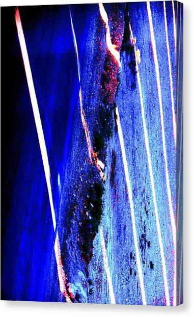 Gerhard Richter Canvas Print - Blue Velvet by Dietmar Scherf