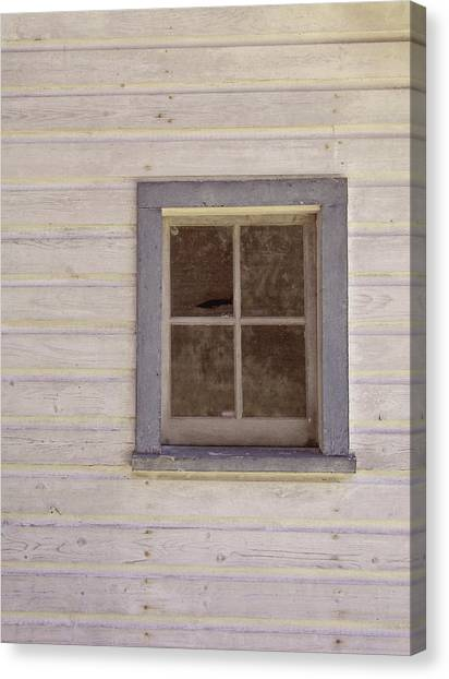 Blue Window Canvas Print by JAMART Photography