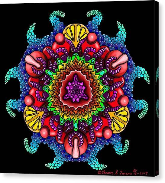 Blueberryflower Canvas Print