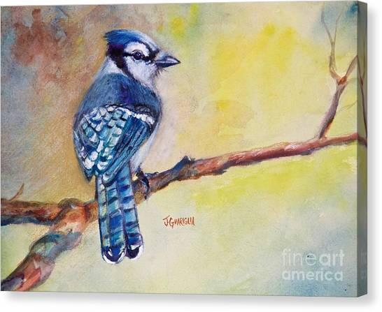 Bluebird Canvas Print by Joyce A Guariglia