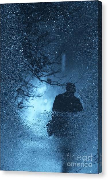 Bluemanright Canvas Print