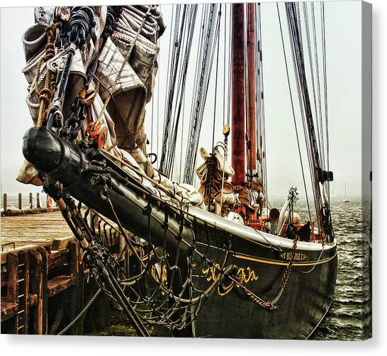 Bluenose Canvas Print