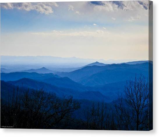 Blueridge Canvas Print