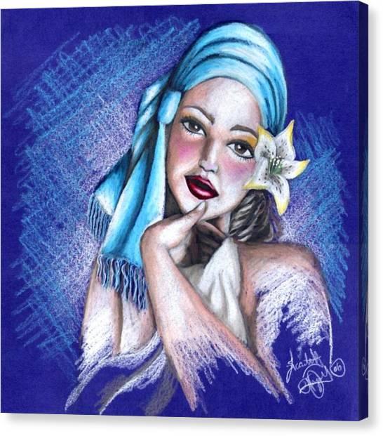 Blues Canvas Print by Scarlett Royal
