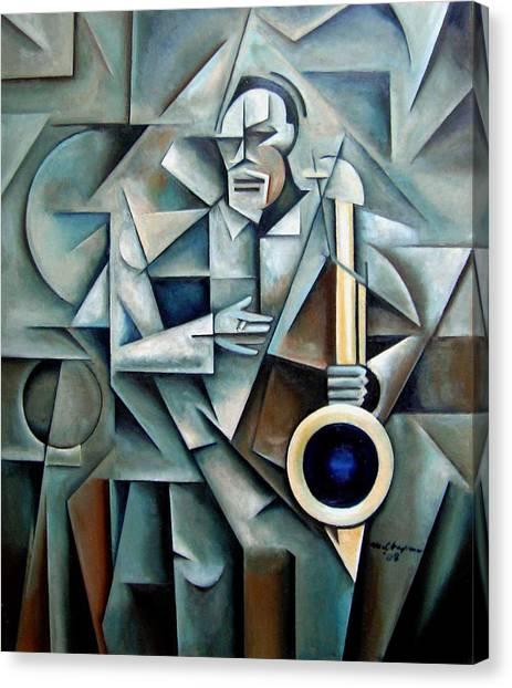 Bluesnik Canvas Print by Martel Chapman