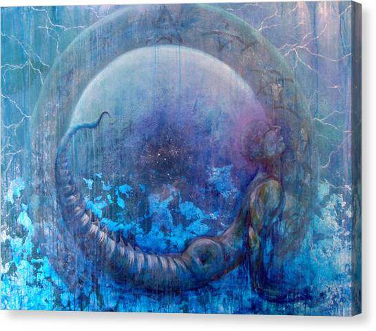Bluestargate Canvas Print