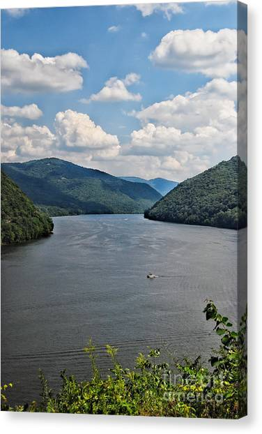 Bluestone Lake - Hinton West Virginia Canvas Print