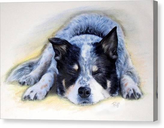 Bluey Canvas Print
