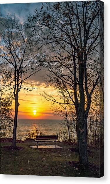 Bluff Bench Canvas Print