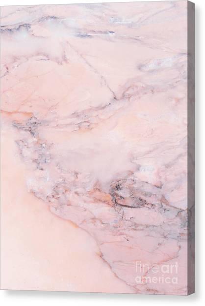 Blush Marble Canvas Print