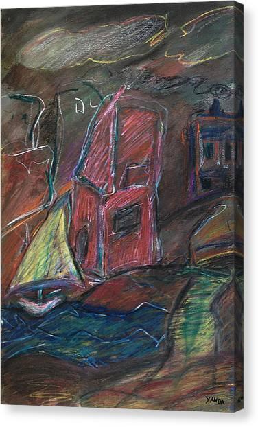 Bluster Canvas Print