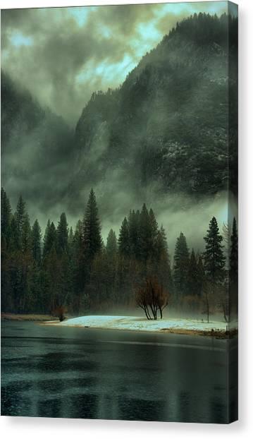 Blustery Yosemite Canvas Print