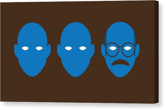 Bluth Man Group Canvas Print