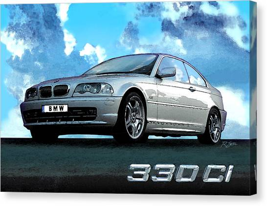 Bmw 330ci Canvas Print