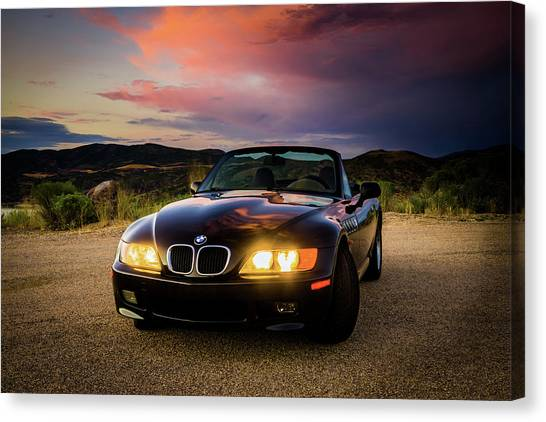 Bmw Z3 Canvas Print