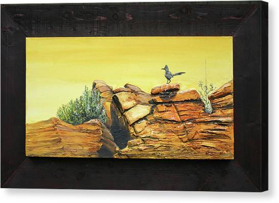 Bneep Bneep Canvas Print by Gregory Peters