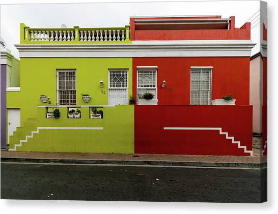 Canvas Print - Bo-kaap 1 by Steven Richman