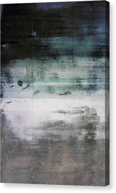 White Sand Canvas Print - Boardwalk Blues- Art By Linda Woods by Linda Woods