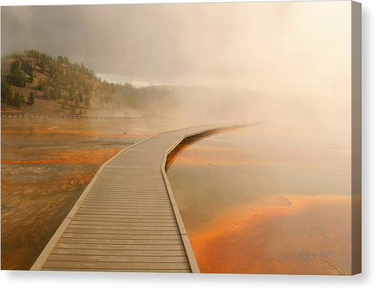 Boardwalk Of Life Canvas Print