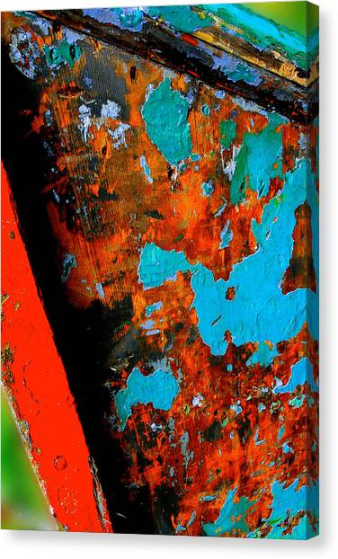 Boat Abstract Canvas Print by Craig Perry-Ollila