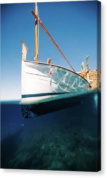 Boat IIi Canvas Print