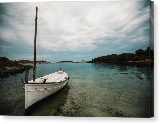Boat Iv Canvas Print
