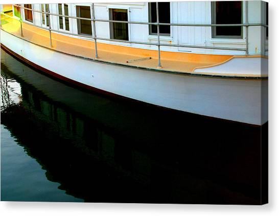 Boat  Reflection - Image 5 - Ver. 2 Canvas Print