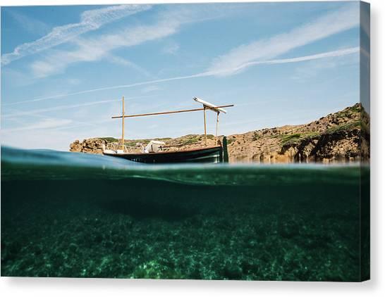 Boat V Canvas Print