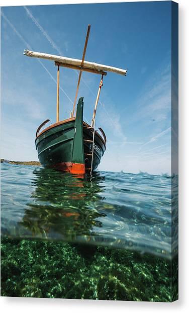 Boat Vi Canvas Print