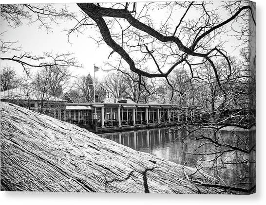 Boathouse Central Park Canvas Print