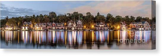 Boathouse Row Lftc Canvas Print
