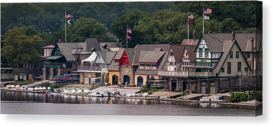 Boathouse Row Philadelphia Pa  Canvas Print