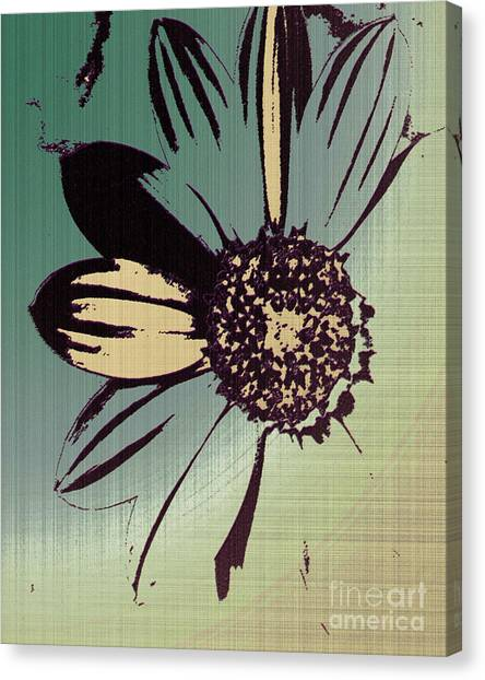 Boating Flower W Canvas Print
