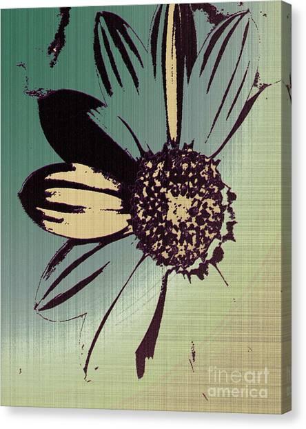 Boating Flower W Canvas Print