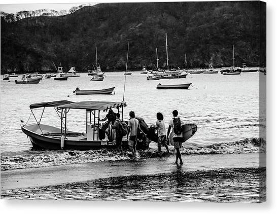 Boats And Boards  Canvas Print