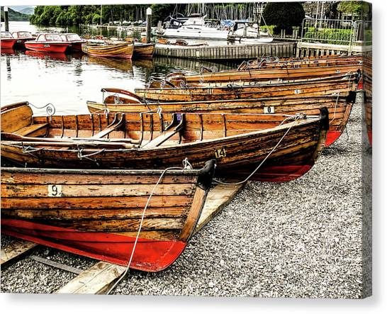 Canvas Print - Boats by Elijah Knight