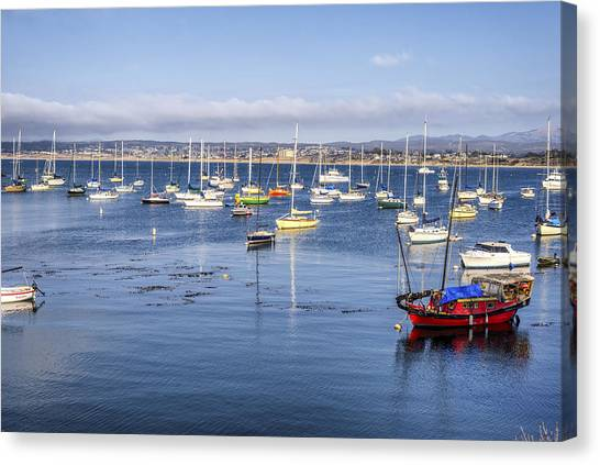 Colors Of Monterey Bay Canvas Print
