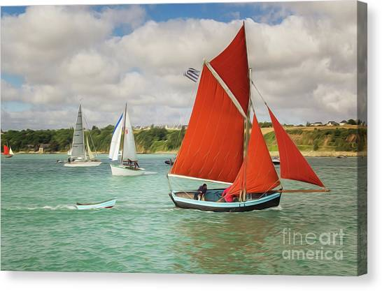 Boatshow Canvas Print