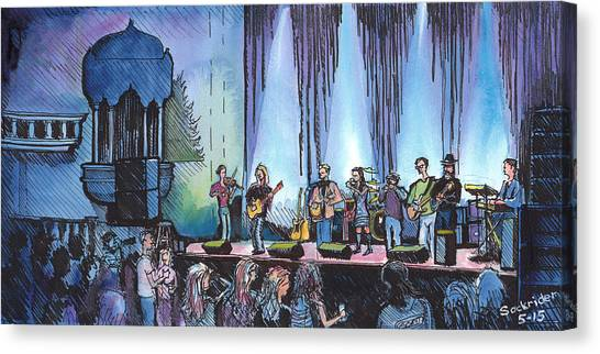 Bob Dylan Tribute Show Canvas Print