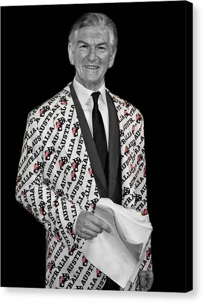 Bob Hawke Canvas Print