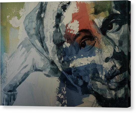 Jamaican Canvas Print - Bob Marley - Could You Be Loved by Paul Lovering