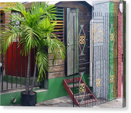 Bob Marley's Home In Kingston Canvas Print