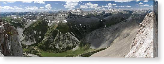 Bob Marshall Wilderness Canvas Print
