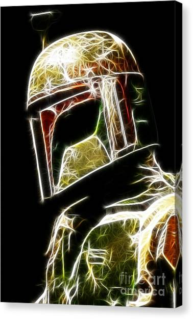 Boba Fett Canvas Print - Boba Fett by Paul Ward