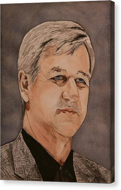 Bobby Orr Canvas Print - Bobby Orr by Betty-Anne McDonald