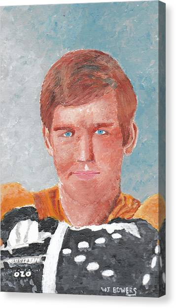 Bobby Orr Canvas Print - Bobby Orr by William Bowers