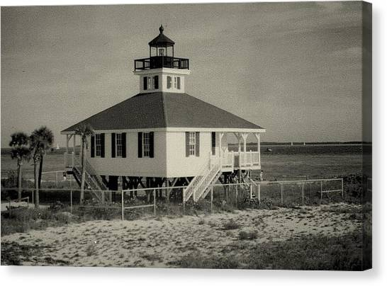 Boca Grande Lighthouse Canvas Print by Lois Lepisto